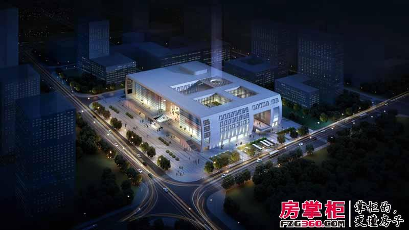 石家庄区域标志性建筑霞光大剧院将落成 辐射区域价值