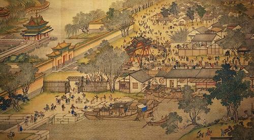 江苏英语绝版清明上河图