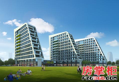 在建筑外形上,采用退台式设计,东侧每一层都有(约20㎡至40㎡)面积不等图片