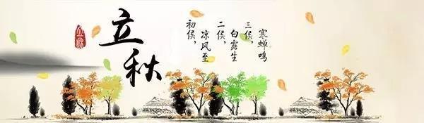 立秋风俗手绘图
