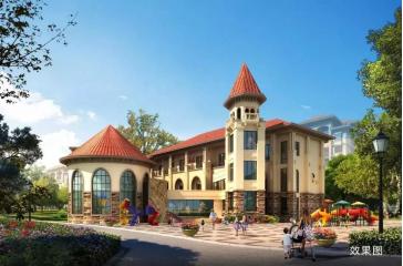 教育方面,国际双语幼儿园(建设中),艺术中心,图书馆等同步建设中