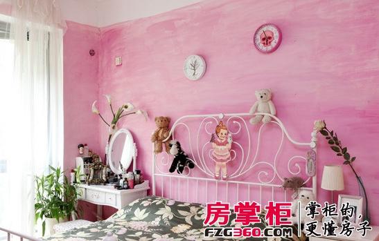 part1 可爱粉色卧室装饰      装饰tips:粉色的墙壁加上