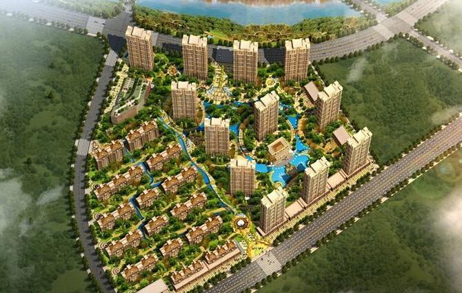 富海澜湾半岛在售62-143平方米高层 均价8500元每平方
