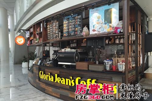 天津环球金融中心津塔写字楼大堂咖啡厅