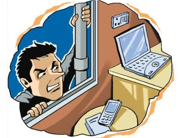 如果有小偷偷东西你会怎么办?