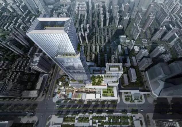 西安超高层添新伙伴 华侨城316米办公楼落定长安路