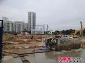 帝景苑实景图2013-5-4 工地进程