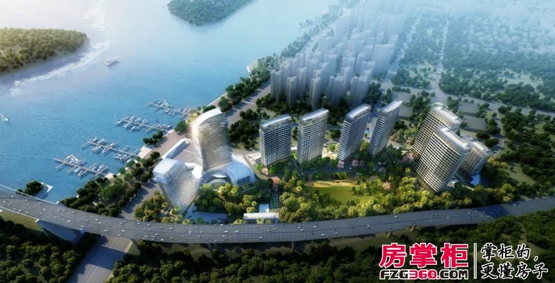 海上城背靠海沧区红树林