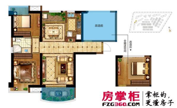 而【保利·叁仟栋】95㎡户型,豪享115㎡奢阔空间,实际得房率远超100%!