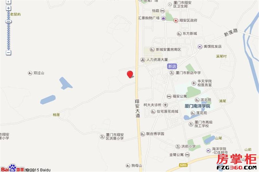 古龙尚逸园交通图