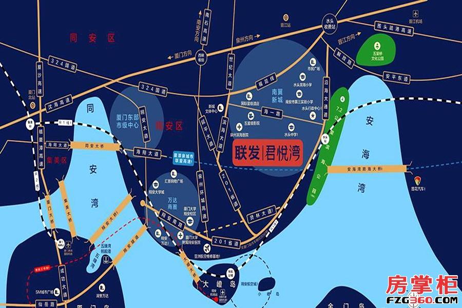 联发·君悦湾区位图