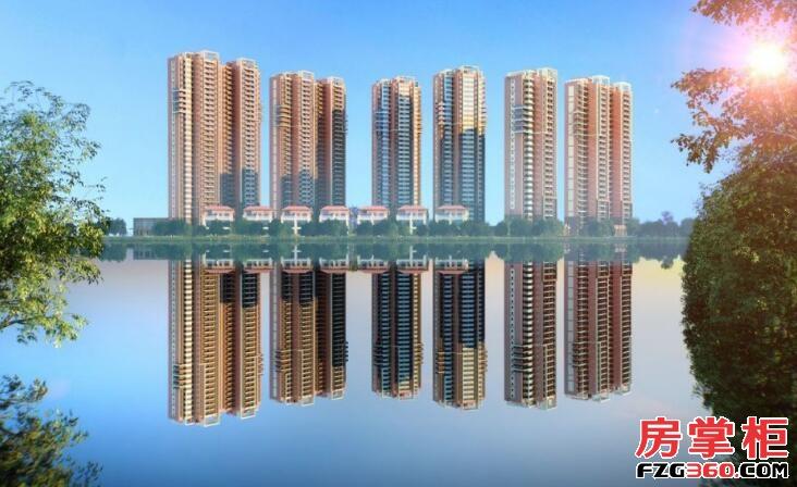 住宅水晶湖畔效果图