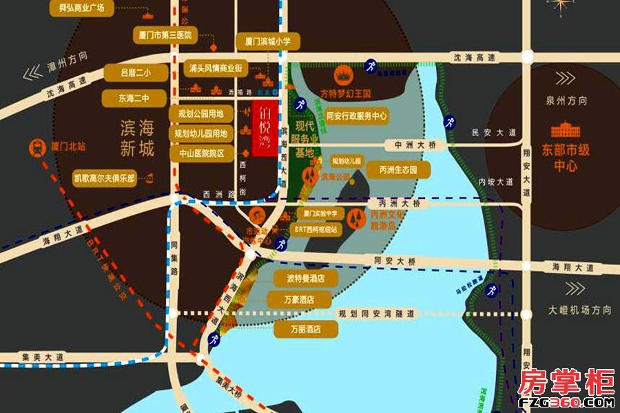 融信铂悦湾区位图