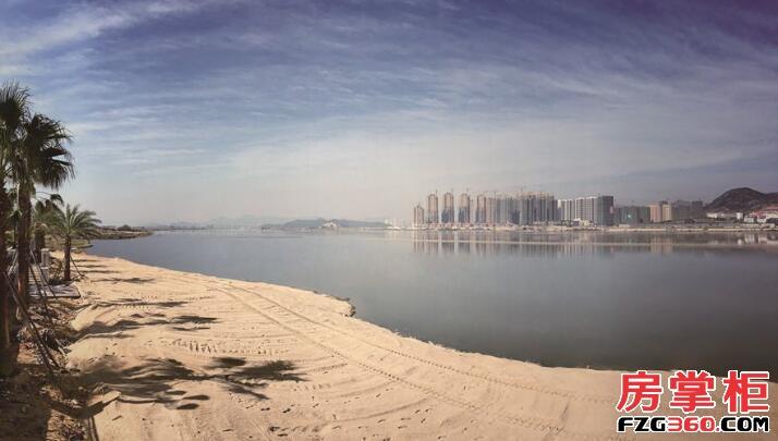 三盛国际海岸实景图