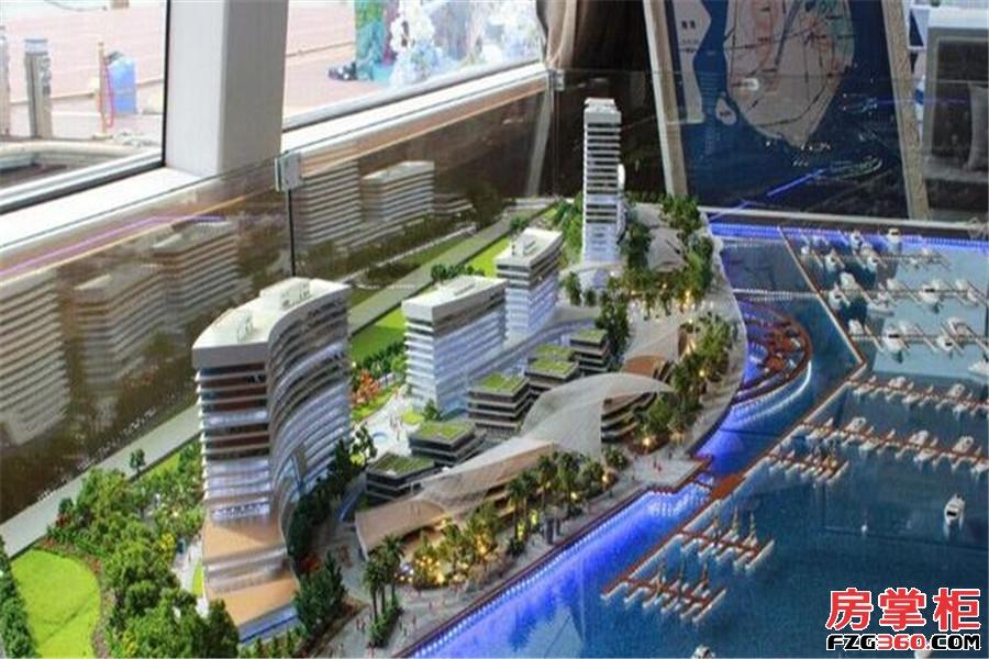 厦门国际游艇汇实景图