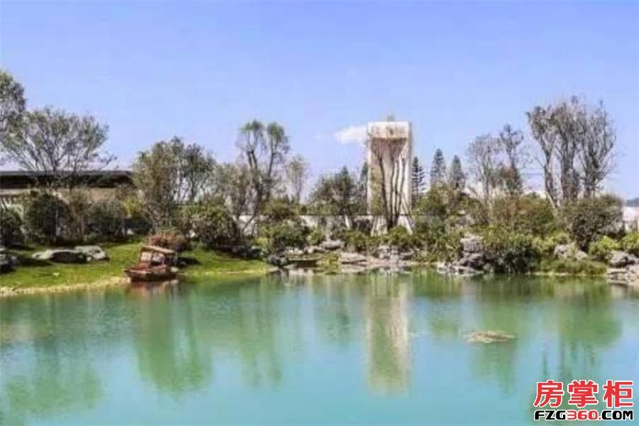 泰禾世茂汀溪院子实景图