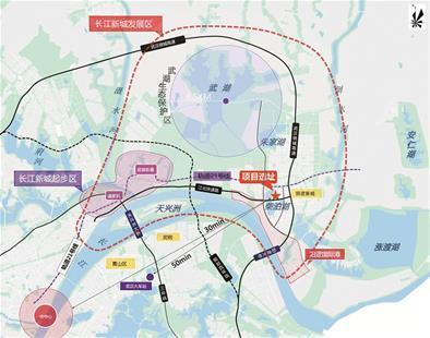 不仅紧靠柴泊湖,而且离武汉地铁阳逻线阳逻开发区站较近,周边分布有保