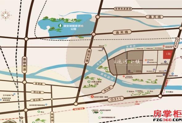 绿地运河小镇_徐州绿地运河小镇_徐州房掌柜