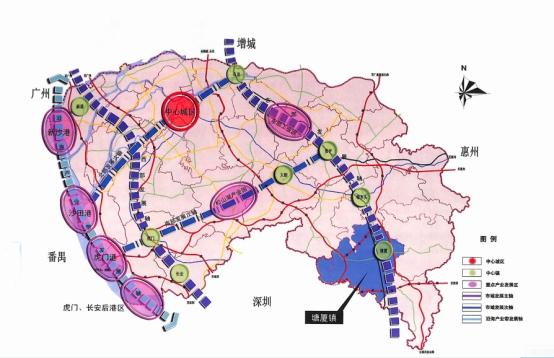 广东虎门交通地图