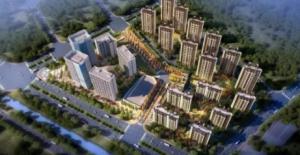 绿地国际产业新城一期住宅近地铁 样板间公开