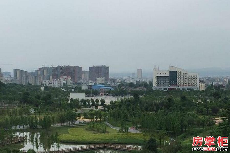 猇亭宜化绿洲新城实景图