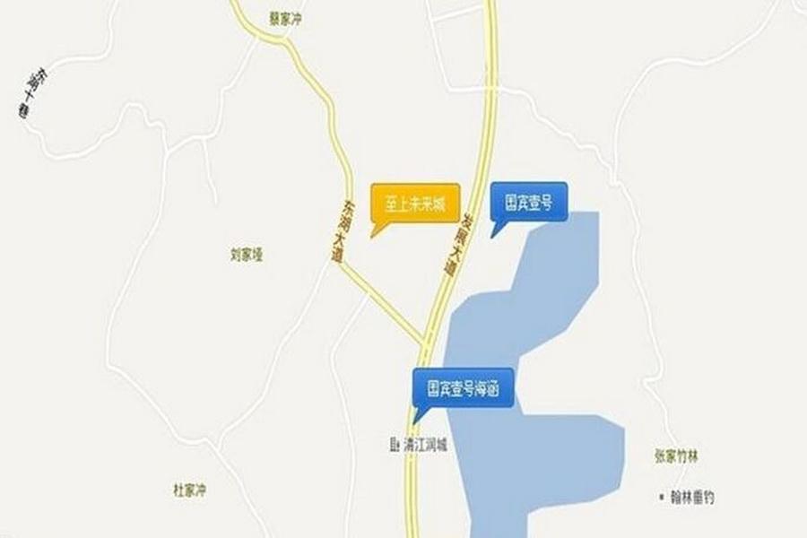 鸿坤国宾壹号二期区位图