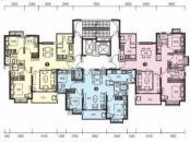 恒大名都3#楼二单元标准层