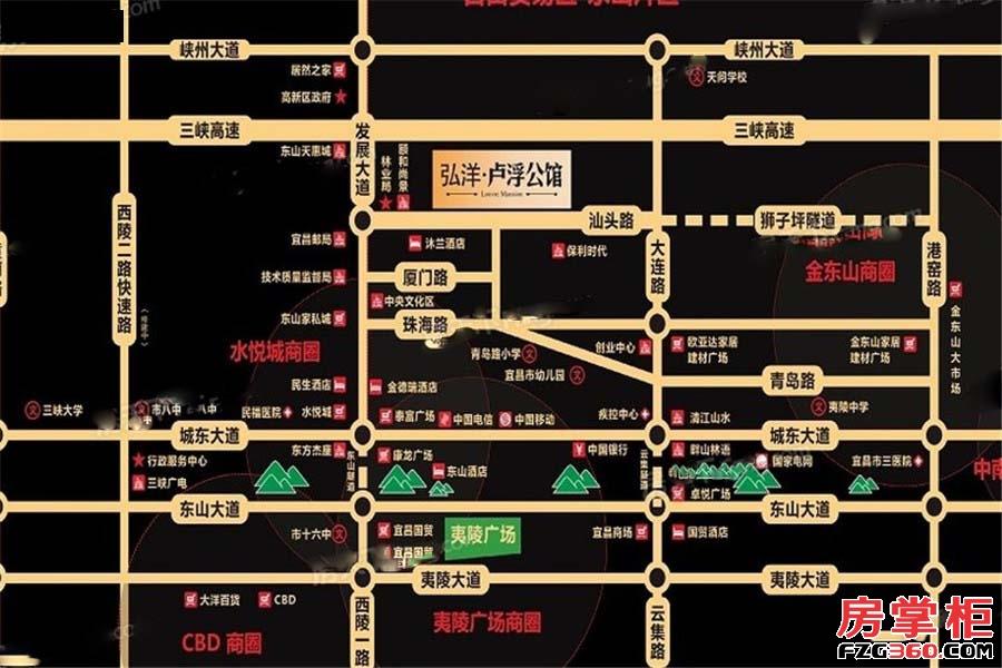 弘洋·卢浮公馆项目图解