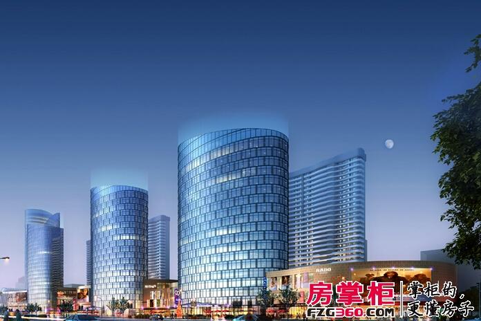 烟台星颐广场效果图