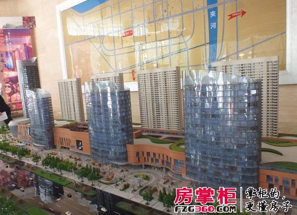 烟台星颐广场实景图