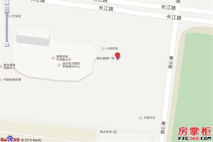 烟台星颐广场交通图