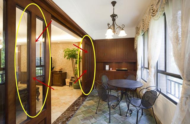 对于客厅面积适中或偏大的户型,阳台与客厅之间还是建议打隔断