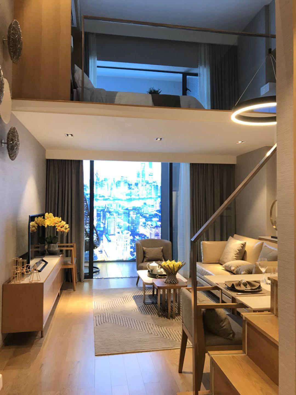 样板房采用酒店式装修标准,两梯18户,其中6户为建面约50㎡的公寓,12户