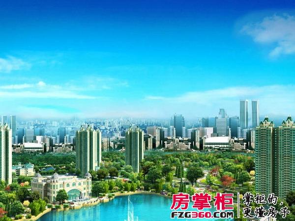 郑州恒大名都效果图小区
